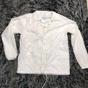 White Primitive Anorak Jacket